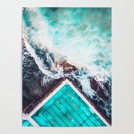 Sydney Bondi Icebergs Poster