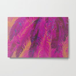 Frolic In The Fronds Metal Print