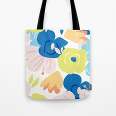 Painterly Blooms Tote Bag