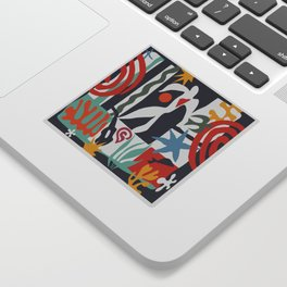 Inspired to Matisse Sticker
