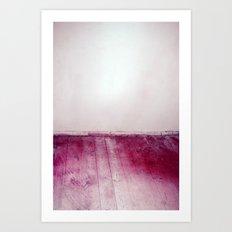 wooden floor Art Print
