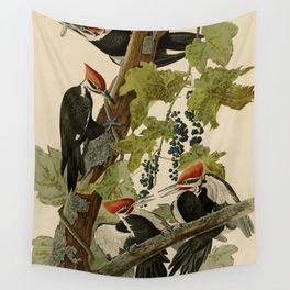 111 Pileated Woodpecker Wall Tapestry