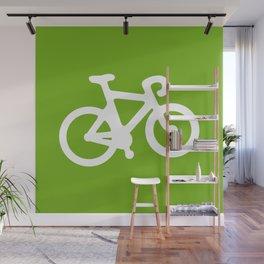 Green Bike Wall Mural