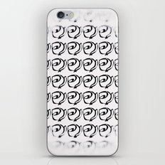 Rows of Flowers, Bright iPhone & iPod Skin