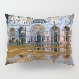 Italy. Venice at night Pillow Sham