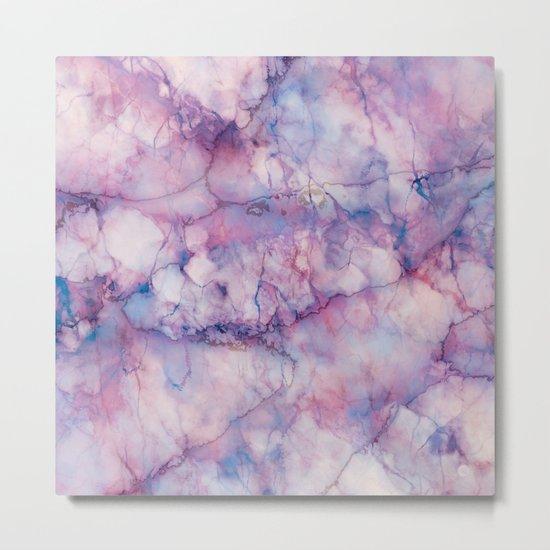 Texture Marble effect Metal Print
