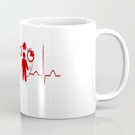 Project Manager Heartbeat Coffee Mug