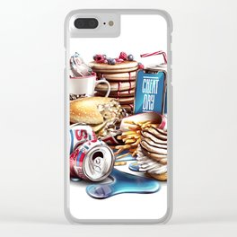 Cheat Day Clear iPhone Case