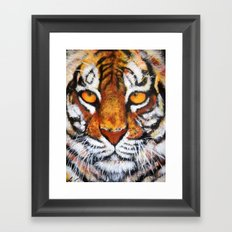 Wildlife Painting Series 4 - Bengal Tiger Framed Art Print