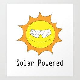 Solar Powered Art Print
