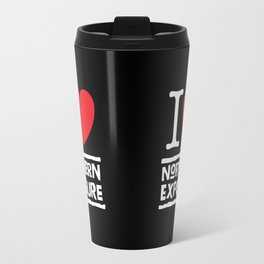 I Heart (Love) Northern Exposure Travel Mug