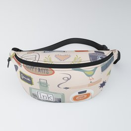 Ink and Things for Writers Fanny Pack