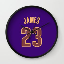 James23 Wall Clock