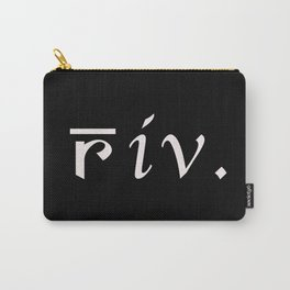 Riv. Carry-All Pouch