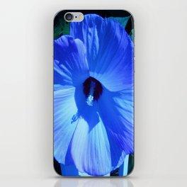 Blue Hibiscus iPhone Skin