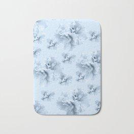 Light Blue Azalea Flower Dream #1 #floral #pattern #decor #art #society6 Bath Mat