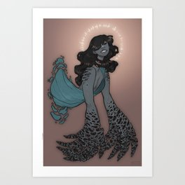 godgrl Art Print