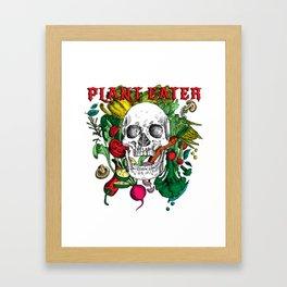 Plant Eater Framed Art Print