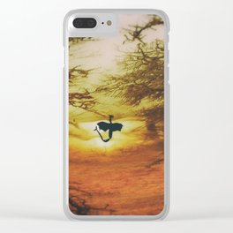Rising Above Clear iPhone Case