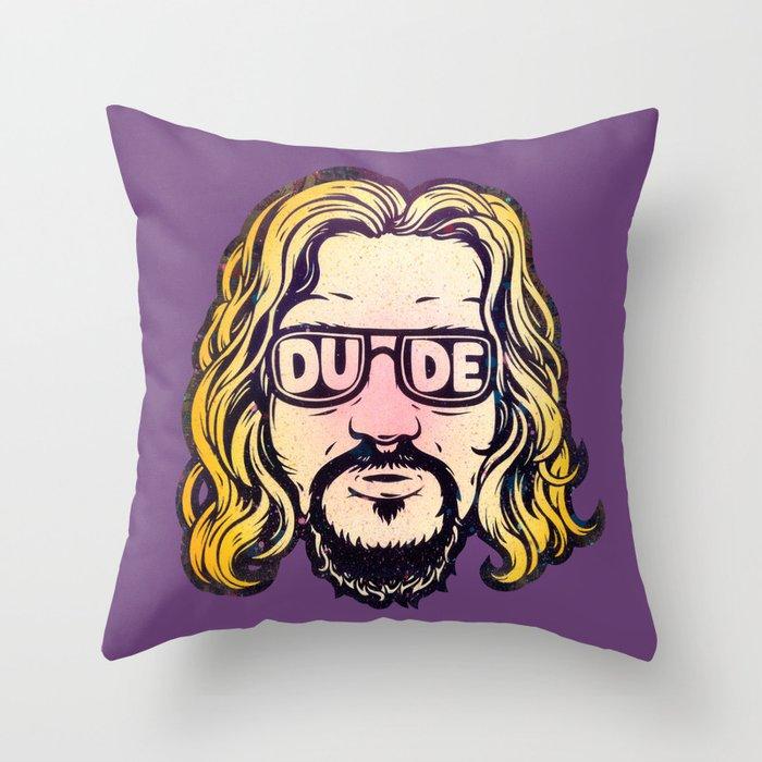 Dude Throw Pillow