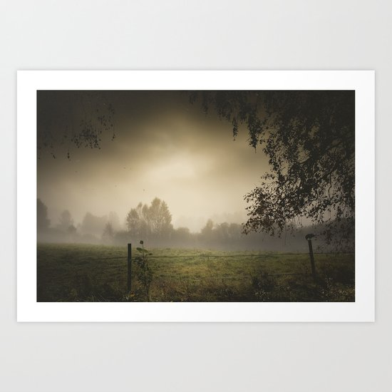 Even heroes cry sometimes Art Print