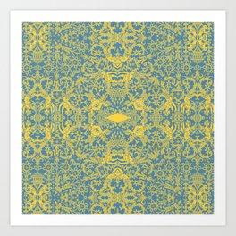 Lace Variation 10 Art Print