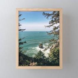 Into The Sea You & Me Framed Mini Art Print