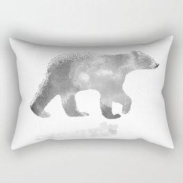 graphic bear III Rectangular Pillow