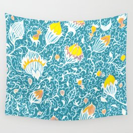 Floral 2 Wall Tapestry