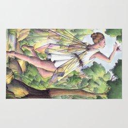 Dancing fairy Rug