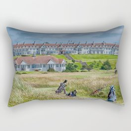 Turnberry Hotel and Golf Course Rectangular Pillow