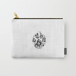 Mandala Paw Carry-All Pouch