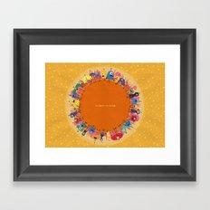 Planet Eleven Framed Art Print