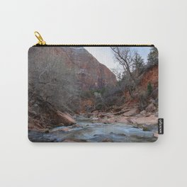 Virgin_River in Winter - Zion_National_Park Carry-All Pouch