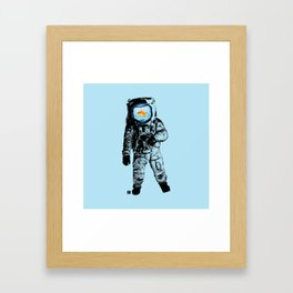 Goldfish Astronaut Framed Art Print