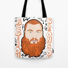 Action Bronson Portrait 2 Tote Bag