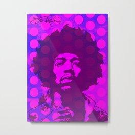 JIMI0302 Metal Print