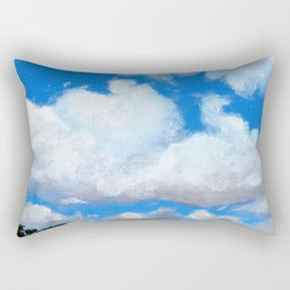 Cloudy Sky Rectangular Pillow