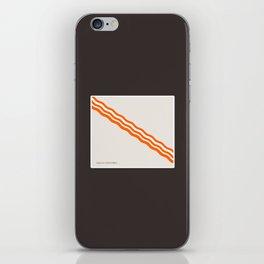 Minimalist Bacon iPhone Skin