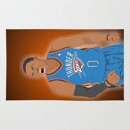 Oklahoma Thunder - Russell Westbrook Rug