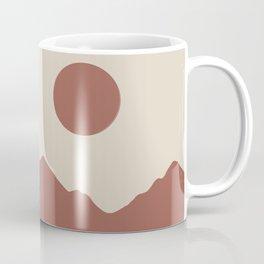 Minimalist Mountainscape Coffee Mug
