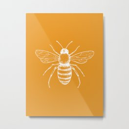 Save the bees! Metal Print