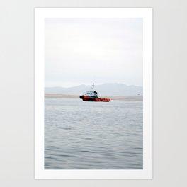 Ocean Day Art Print
