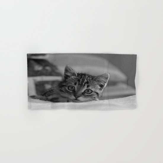 cat Hand & Bath Towel