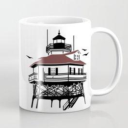 Lighthouse Drawing Illustration Coffee Mug