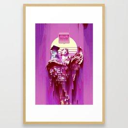 Hyperreality Framed Art Print