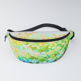 Mission Flowers California Fanny Pack
