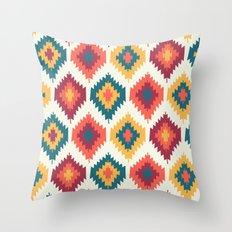 Summer Fiesta Throw Pillow