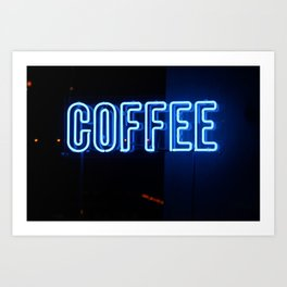 Forever COFFEE Art Print
