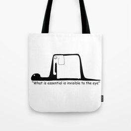 The Little Prince. Boa, elephant or hat. Tote Bag